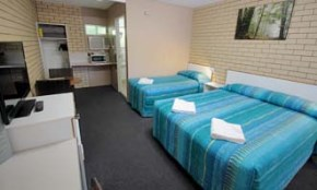 Twin Room at Binalong Motel