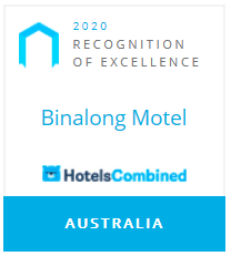 2020 Recognition of Excellence - Binalong Motel