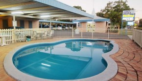 Relax by the pool with friends and enjoy our BBQ facility at Binalong Motel.